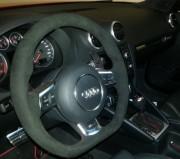 Alcantara Lenkrad RS3 nachher